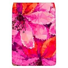 Geometric Magenta Garden Flap Covers (l)  by DanaeStudio