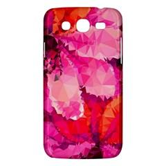 Geometric Magenta Garden Samsung Galaxy Mega 5 8 I9152 Hardshell Case  by DanaeStudio