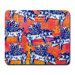 Little Flying Pigs Large Mousepads