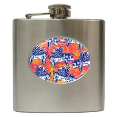 Little Flying Pigs Hip Flask (6 Oz) by DanaeStudio