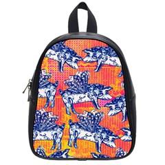 Little Flying Pigs School Bags (small)  by DanaeStudio
