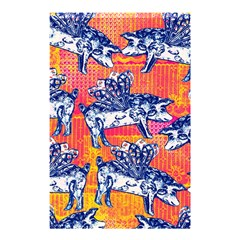 Little Flying Pigs Shower Curtain 48  X 72  (small)  by DanaeStudio