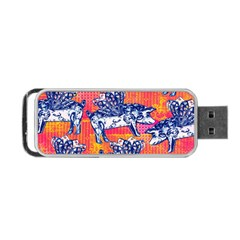 Little Flying Pigs Portable Usb Flash (one Side) by DanaeStudio
