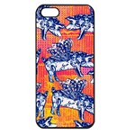 Little Flying Pigs Apple iPhone 5 Seamless Case (Black)
