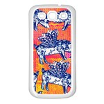 Little Flying Pigs Samsung Galaxy S3 Back Case (White)