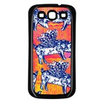 Little Flying Pigs Samsung Galaxy S3 Back Case (Black)