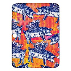 Little Flying Pigs Samsung Galaxy Tab 3 (10 1 ) P5200 Hardshell Case  by DanaeStudio