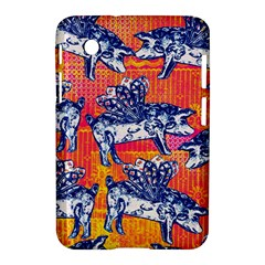 Little Flying Pigs Samsung Galaxy Tab 2 (7 ) P3100 Hardshell Case  by DanaeStudio