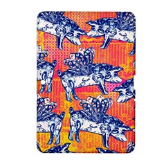 Little Flying Pigs Samsung Galaxy Tab 2 (10 1 ) P5100 Hardshell Case  by DanaeStudio