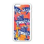 Little Flying Pigs Apple iPhone 6/6S White Enamel Case