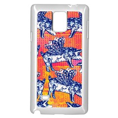 Little Flying Pigs Samsung Galaxy Note 4 Case (white) by DanaeStudio