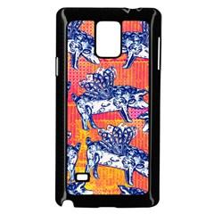 Little Flying Pigs Samsung Galaxy Note 4 Case (black) by DanaeStudio