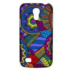 Pop Art Paisley Flowers Ornaments Multicolored Galaxy S4 Mini by EDDArt