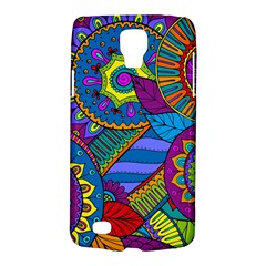 Pop Art Paisley Flowers Ornaments Multicolored Galaxy S4 Active by EDDArt