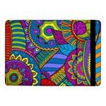Pop Art Paisley Flowers Ornaments Multicolored Samsung Galaxy Tab Pro 10.1  Flip Case
