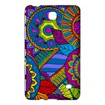 Pop Art Paisley Flowers Ornaments Multicolored Samsung Galaxy Tab 4 (8 ) Hardshell Case
