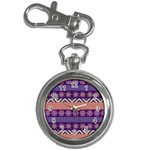 Colorful Winter Pattern Key Chain Watches