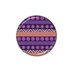 Colorful Winter Pattern Hat Clip Ball Marker (10 pack)