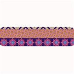 Colorful Winter Pattern Large Bar Mats