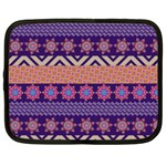 Colorful Winter Pattern Netbook Case (Large)