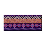 Colorful Winter Pattern Hand Towel