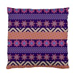 Colorful Winter Pattern Standard Cushion Case (One Side)
