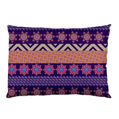 Colorful Winter Pattern Pillow Case by DanaeStudio