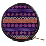 Colorful Winter Pattern Mini Makeup Bags