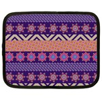 Colorful Winter Pattern Netbook Case (XL)