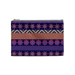 Colorful Winter Pattern Cosmetic Bag (Medium)