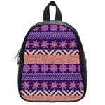 Colorful Winter Pattern School Bags (Small)