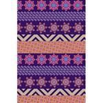 Colorful Winter Pattern 5.5  x 8.5  Notebooks