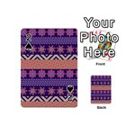 Colorful Winter Pattern Playing Cards 54 (Mini)