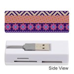 Colorful Winter Pattern Memory Card Reader (Stick)