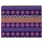 Colorful Winter Pattern Cosmetic Bag (XXXL)