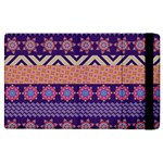 Colorful Winter Pattern Apple iPad 2 Flip Case