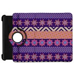 Colorful Winter Pattern Kindle Fire HD Flip 360 Case