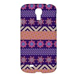 Colorful Winter Pattern Samsung Galaxy S4 I9500/I9505 Hardshell Case