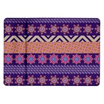 Colorful Winter Pattern Samsung Galaxy Tab 10.1  P7500 Flip Case