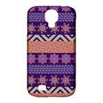 Colorful Winter Pattern Samsung Galaxy S4 Classic Hardshell Case (PC+Silicone)