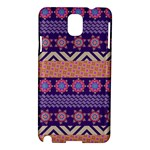 Colorful Winter Pattern Samsung Galaxy Note 3 N9005 Hardshell Case