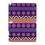 Colorful Winter Pattern Samsung Galaxy Note 10.1 (P600) Hardshell Case