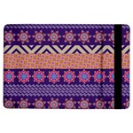 Colorful Winter Pattern iPad Air Flip
