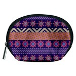 Colorful Winter Pattern Accessory Pouches (Medium)