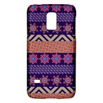 Colorful Winter Pattern Galaxy S5 Mini