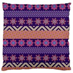 Colorful Winter Pattern Standard Flano Cushion Case (One Side)