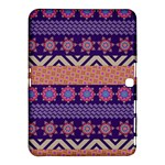 Colorful Winter Pattern Samsung Galaxy Tab 4 (10.1 ) Hardshell Case