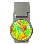 Happy Multicolor Painting Money Clips (Round)