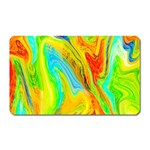 Happy Multicolor Painting Magnet (Rectangular)