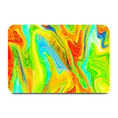 Happy Multicolor Painting Plate Mats by designworld65
